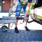 podpinanie przyczepki samochodowej