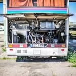 Renault FR1 otwarta klapa do silnika